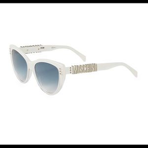 NEW MOSCHINO Sunglasses, Case & Cloth NWT